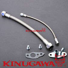 Turbo Oil Feed & Drain Line Kit for TOYOTA CT12 CT20 CT26