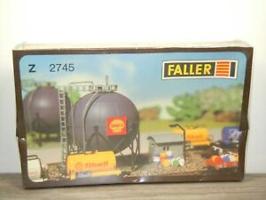 Gas Tank Shell - Faller 2745 in Sealed Box *51480
