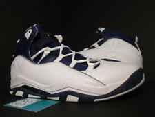 2008 Nike Air Jordan OLYMPIA OLYMPIC WHITE METALLIC SILVER GOLD NAVY BLUE NEW 12
