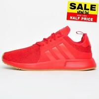 Adidas Originals X PLR Mens Casual Retro Fashion Gym Fitness Trainers Red