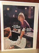 "Vintage 1970 ""Don't Settle"" Viceroy Print Ad"