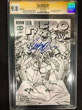 Hero Comics #NN Sketch Variant CGC SS 9.8 Signed by J Scott Campbell
