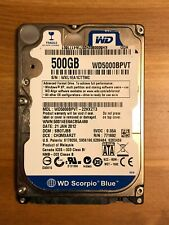 "Western Digital Scorpio Blue 500GB Internal 5400RPM 2.5"" (WD5000BPVT) HDD"