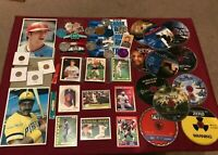 Junk Drawer Lot Collectibles, Ken Griffey Jr, Barry Sanders, Misc Items #1/26/1P