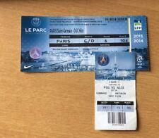 @ TICKET VIP LOGES - PARIS PSG - OGCN NICE - LIGUE 1 - SAISON 2013-14 @