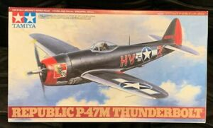 Tamiya 1/48 P-47M Thunderbolt W/Eduard LOOK Instrument Panel