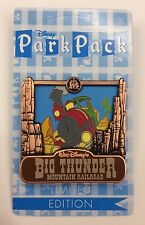 Disney Pin Big Thunder Mountain Railroad July 2016 Park Pack LE Pin New Pin