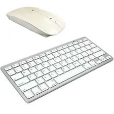 TASTIERA Bluetooth Wireless e 2.4ghz WIRELESS MOUSE OTTICO CORDLESS Apple Mac