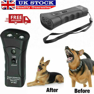 Petgentle Ultrasonic Anti Dog Barking Pet Trainer LED Light Gentle Chaser-Style