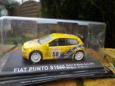IXO / ALTAYA FIAT PUNTO S 1600 RALLYE MONTE CARLO 2003 COMME NEUVE EN BOITE