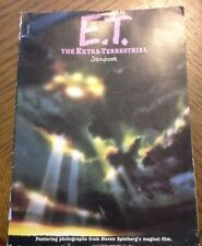 Vintage 1982 Book E.T. the EXTRA-TERRESTRIAL Storybook MOVIE PHOTOS