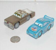 Disney Pixar Cars Wood Lot Lightning McQueen Dinoco Thomas Train Wooden Railway