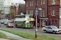 PHOTO  MAIDSTONE & DISTRICT BUS NO. 5844 (BRISTOL VRT) IN LONDON ROAD 1988