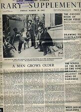 TIMES LITERARY SUPPLEMENT(UK)-BOUND VOL-JAN-JUNE 1962-FEAST OF CLASSIC CRITICISM