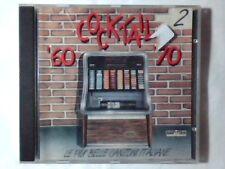 CD COCKTAIL '60 '70 VOL. 2 LUCIO DALLA ANNA OXA DOMENICO MODUGNO MILVA COLLAGE