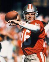San Francisco 49ers JOE MONTANA Glossy 8x10 Photo NFL Football Print Photograph
