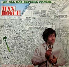 MAX BOYCE - We All Had Doctors' Papers (UK 12 Tk 1975 LP)