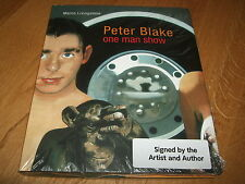 MARCO LIVINGSTONE-PETER BLAKE ONE MAN SHOW-SIGNED x 2-1ST-2009-HB-M-RARE