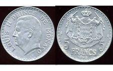 MONACO 5 francs 1945  alu