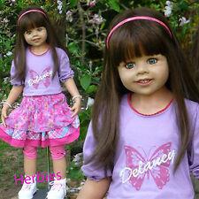 "Masterpiece Dolls Delaney Brunette, Special Edition Monika Levenig 39"" Blue Eyes"