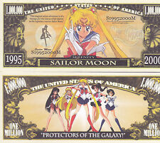 SAILOR MOON Novelty Dollar with  Protector & free shipping