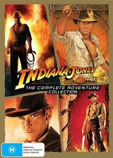 Indiana Jones The Complete Adventure Collection (DVD, 2015, 4-Discs) New/ Sealed