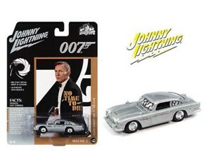 JOHNNY LIGHTNING 1:64 1964 ASTON MARTN DB5 007 JAMES BOND DAMAGED VERSIO JLSP160