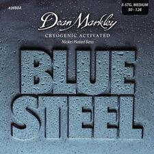 Dean Markley 2680A Blue Steel NPS Bass Guitar Strings, Medium, 5 String, 50-128