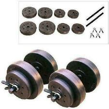 mancuernas gym gimnasio pesas de ejercicio 40 libras total, juego completo weigh