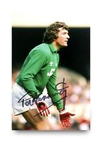 Pat Jennings Signed 6x4 Photo Tottenham Hotspur Arsenal Gunners Autograph + COA