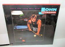 John Schneider Take The Long Way LP Record - Mint Sealed