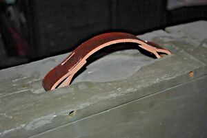 WW1 1917 1918 WOODEN AMMO BOX REPLACEMANT LEATHER HANDLE