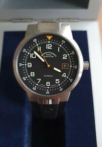 Neu Sonderedition Lufthansa Automatik Uhr Mühle Glashütte Typ4 Papiere limitiert