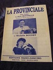 Partitur Die provinzial der E Bouvelle et M.Schwarz Souvenir de St Brieux Privat