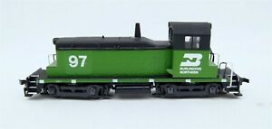 HO Scale Walthers Burlington Northern Green Train Engine Tested Works C4028