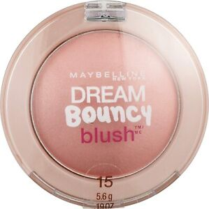 MAYBELLINE DREAM BOUNCY BLUSH ROSE PETAL 15 NEW SEALED