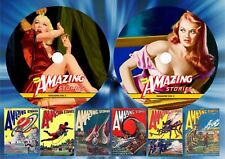 Amazing Stories Pulp Magazines On Two DVD Rom's