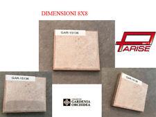 Tozzetto in gres porcellanato pavimento rivestimento decoro piastrella 8x8