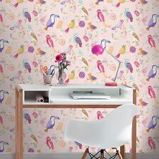 Girls Nursery Wallpaper Rolls Sheets For Sale Ebay