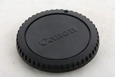 Bouchon pour boitier Canon EOS original (EF EF-S Cache Genuine Canon body cap)