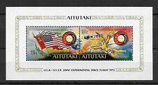 Aitutaki 1975 Apollo & Soyuz Space Flight MNH mini sheet M.S. 150