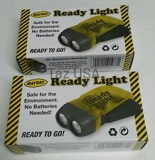 Ready Light Emergency Survival Bug Out Bag Led Bulbs Doomsday 2 count Mayday