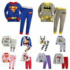 Baby clothes kids boys 100% cotton outfits&set Pajamas T shirt+pants sleepwear