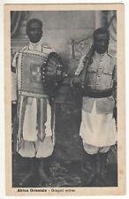 CARTE POSTALE AFRICA ORIENTALE GREGARI ERITREI