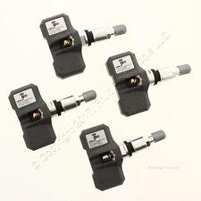 New Set of 4 Orange Electronic LE6L2T TPMS Tire Air Pressure Sensor