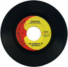 """DON GARDNER & HIS CHECKMATES  """"COOKING c/w I CAN'T HELP MYSELF""""   LISTEN!"""