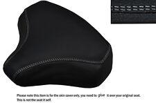 Blanco DS Stitch personalizado se adapta a Honda Pa 50 Frontal Primavera Cuero Funda De Asiento