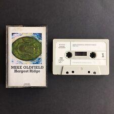Mike Oldfield - Hergest Ridge - Cassette TCV 2013 VIRGIN White Paper Labels 1974