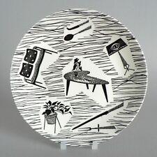 """HOMEMAKER 7"""" SIDE TEA PLATES CREAM VINTAGE MID-CENTURY RIDGWAY (LATE MARK #4) A+"""