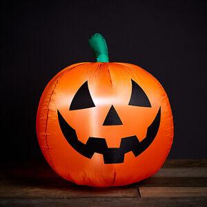 LED Kürbis Aufblasbar Halloween Deko Party Spuk Strom Außen Garten Lights4fun